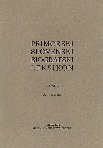 PRIMORSKI SLOVENSKI BIOGRAFSKI LEKSIKON