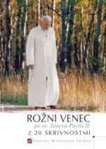ROŽNI VENEC po sv. Janezu Pavlu II. z 20 skrivnostmi