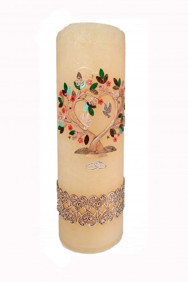 Poročna sveča 12315