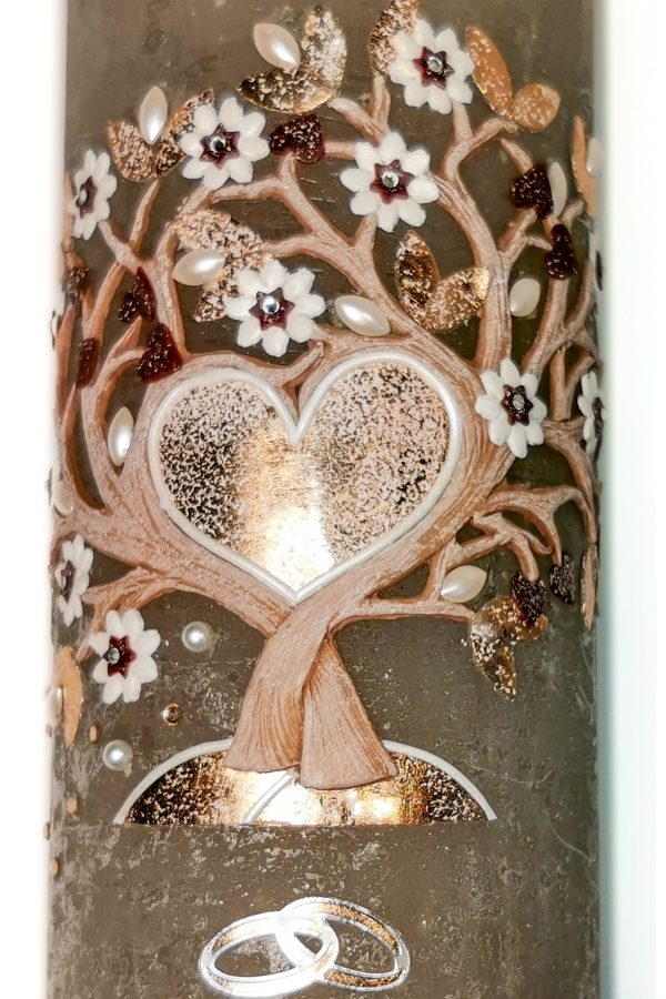 Poročna sveča 12316