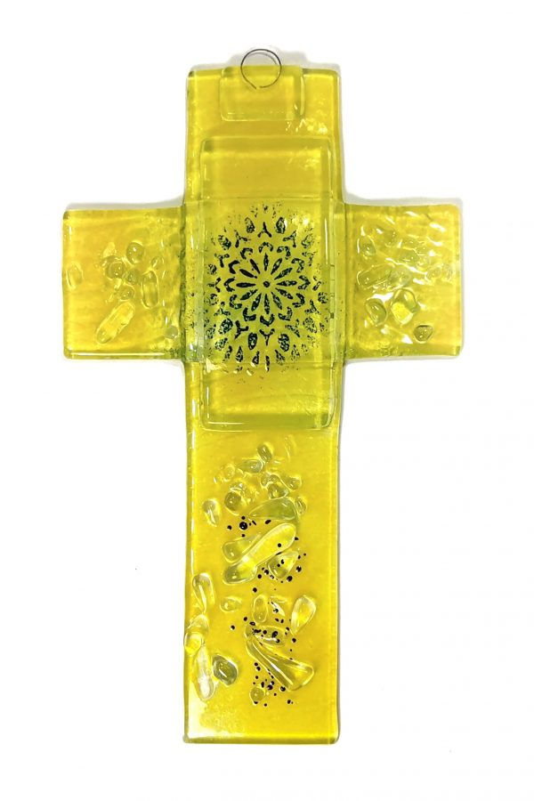 Križ steklo fuzija 5562